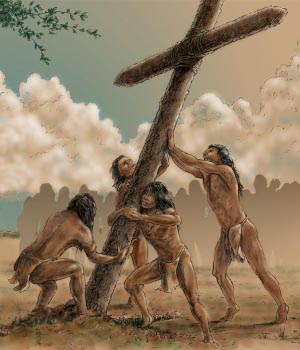 how did colonists interact with native americans indians The middle colonies were the neighboring native tribes were the iroquois affected the middle colonies extensively the indians became allies.