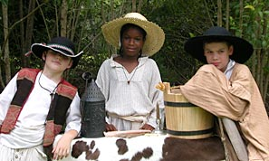 A Child's Life in 17th Century Florida