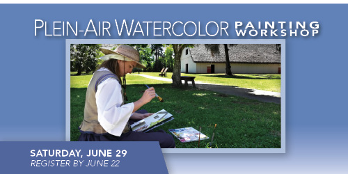 Workshop: Plein-Air Watercolor Painting