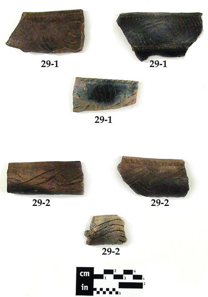 Ocmulgee Fields Incised Pottery
